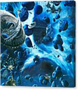 Alien Pirates  Canvas Print