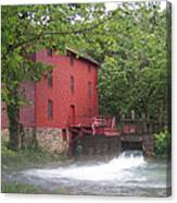 Alley Springs Mill  Canvas Print