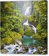 Amazing Waterfall Canvas Print
