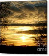 Amber Skys Nine Canvas Print