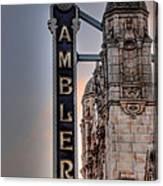 Ambler Theater - Ambler Pa Canvas Print