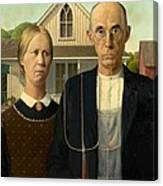 American Gothic Canvas Print