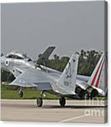 An F-15b Baz Of The Israeli Air Force Canvas Print