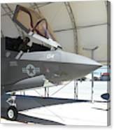 An F-35b Lightning II During Preflight Canvas Print