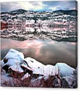 An Okanagan Winter Canvas Print