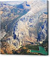 Andalusian Heights. Spain Canvas Print