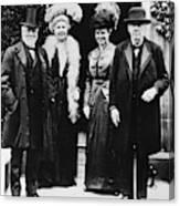 Andrew Carnegie (1835-1919) Canvas Print
