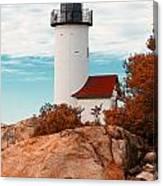 Annisquam Lighthouse Canvas Print