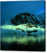 Antarctic Fiord Canvas Print