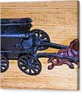 Antique Cast Iron Toy Canvas Print