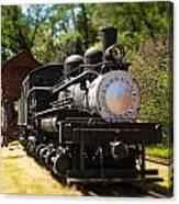Antique Locomotive Canvas Print