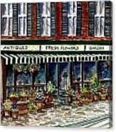 Antique Shop Canvas Print