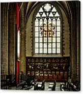 Antwerp Cathedral Canvas Print