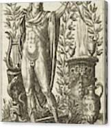 Apollo Pythias, The Greek God Canvas Print