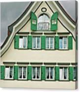 Appenzell Switzerland's Famous Windows Canvas Print