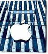 Apple In The Big Apple Canvas Print