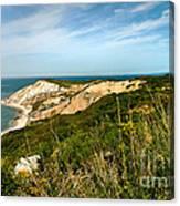 Aquinnah Gay Head Lighthouse Marthas Vineyard Massachusetts Canvas Print