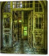 Arch Door Canvas Print
