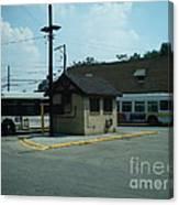 Archer/neva Cta Bus Terminal Canvas Print