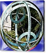 Armillary Sphere Canvas Print