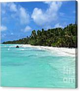 Arno Atoll Canvas Print