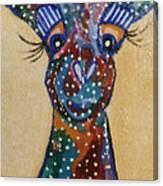 Girafe Art Canvas Print