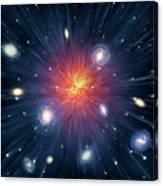 Artwork Of The Big Bang Canvas Print