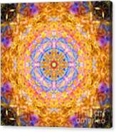 Sun Sparkle Mandala  Canvas Print