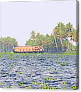Asia, India, Kerala (backwaters Canvas Print