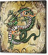 Asian Dragon Canvas Print