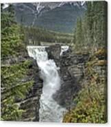 Athabasca Falls 2 Canvas Print