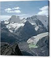 T-303504-athabasca Glacier In 1957 Canvas Print