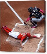 Atlanta Braves V Washington Nationals 1 Canvas Print