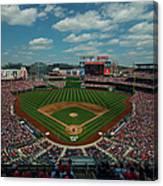 Atlanta Braves V. Washington Nationals Canvas Print