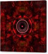 Audio Kaleidoscope Canvas Print