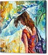 Aura Of Autumn 1 Canvas Print