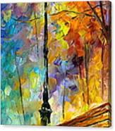 Aura Of Autumn 2 Canvas Print
