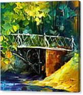 Aura Of Autumn 3 Canvas Print