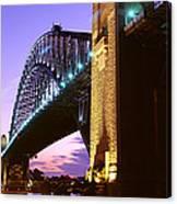 Australia, Sydney, Harbor Bridge Canvas Print