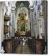 Austria. Krems. G�ttweig Abbey. Church Canvas Print
