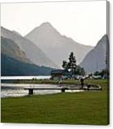 Austrian Alps Canvas Print