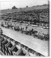 Auto Race, C1922 Canvas Print