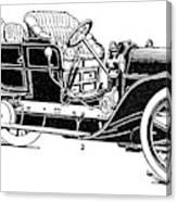 Automobile, 1907 Canvas Print