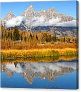 Autumns Calling Card Canvas Print