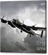 Avro Lancaster Canvas Print