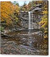 Awosting Falls Canvas Print