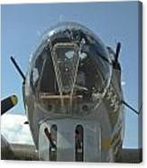 B-17 Nose Canvas Print