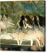 Ballet At The Paris Opera Canvas Print