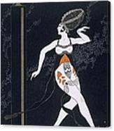 Ballet Scene With Tamara Karsavina Canvas Print
