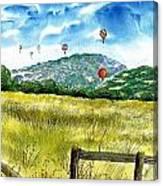 Balloon Race Canvas Print